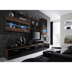 Wall Unit Modern 32 stylish modern wall units for effective storage | digsdigs