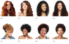 define the C / B hair difference #hairstyle #3c #4b #3b #4c