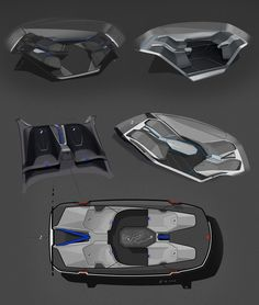 BMW xBASE Interior on Behance