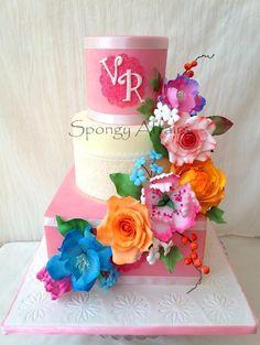 Summer Wedding! - Cake by Meenakshi Jamadagni