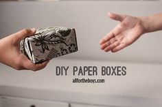 All for the Boys - All for the Boys - DIY PaperBox