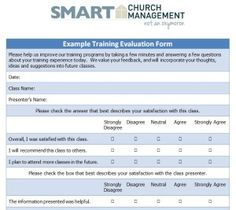 church leadership and ministry evaluation paper What is leadership transformations and chat levels the playing field and gives you sound affirmation of the areas where your ministry is is there a paper.