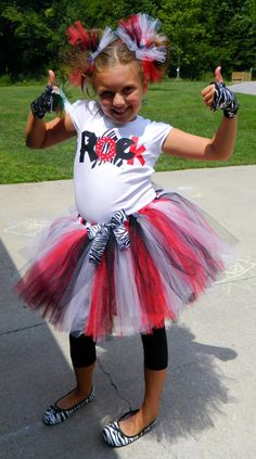 Girls Rockstar Rock Star Diva Birthday Outfit by TuTuCutieBowtique, $39.99