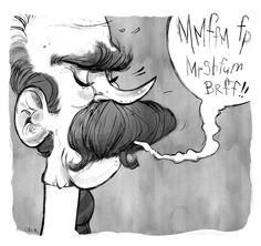 I love moustaches. Like antlers for your face (that may hinder your speech).The bigger, the better.