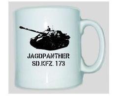 Tasse Jagdpanther V SD.KFZ 173 / mehr Infos auf: www.Guntia-Militaria-Shop.de