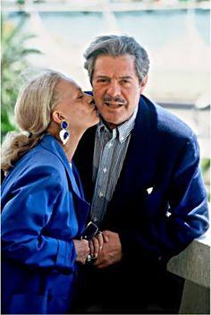 Jeanne Moreau and Marcello Mastroianni