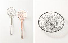 Metal Netted Objects by Kanaami Tsuji