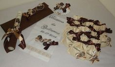 Kit Batizado Tema Chocolate