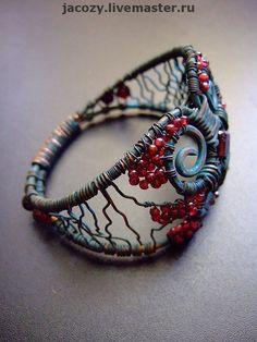 Bracelets handmade.  Fair Masters - handmade copper bracelet GROTTO.  Handmade.