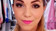 maquiagem para loiras de olhos caídos - YouTube