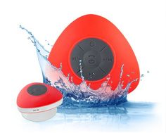 $22 for a Handsfree Waterproof Bluetooth Speaker with Built-In Mic, Choose from 6 Colours Waterproof Bluetooth Speaker, Best Deals Online, Colours