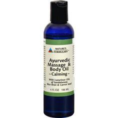 Nature's Formulary Calming Massage Oil - 4 fl oz - TPS Shopping Site