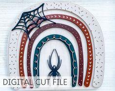 Boho Rainbow SVG Digital File Laser Cut File DIY Craft   Etsy