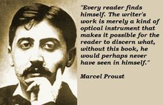 Marcel Proust shut out visitors from his cork-lined room, where he wrote, but he probably expected to be immortalized in the literary canon. Description from likesuccess.com. I searched for this on bing.com/images