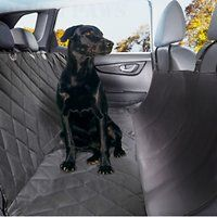 Plush Paws Products Quilted Hammock Car Seat Cover, Regular