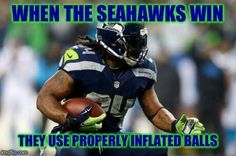 Officially Checked by Marshawn Lynch! LMAO!
