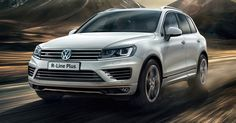 VW Touareg Now Available In R Line Plus Trim In UK #Prices #Reports