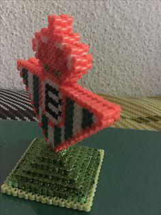 Escudo Del Real Betis hecho con hama beads