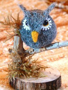 Woolly Owl - pattern by Marie Mayhew Designs