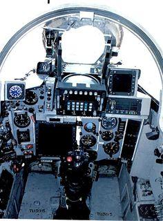 "Mig-27M ""Bahadur"" cockpit (Indian Air Force)"