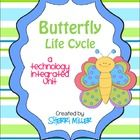 Utilize 21st century skills with your students while they learn all about the life cycle of a butterfly. This unit includes both printables and tem...