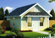This is Country Bungalow house plan has an open floor plan, four bedrooms, three bathrooms, and three-car garage. Cottage Style House Plans, Family House Plans, Cottage Style Homes, Cottage House Plans, Cottage Design, Simple Floor Plans, Small House Floor Plans, Bungalow, Small Spaces