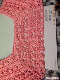 Irish lace, crochet, crochet p