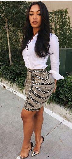 Sexy Outfits to Show off that Curvy Figure Style Feminin, Look Fashion, Womens Fashion, Moda Plus Size, Ebony Women, Looks Style, Mode Style, Beautiful Black Women, Swagg