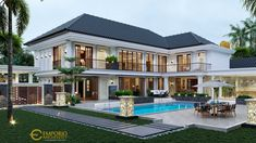 Big Beautiful Houses, Beautiful Homes, Architect Logo, Architect House, House Outside Design, Classic House Design, Home Building Design, Luxury Homes Dream Houses, Modern Mansion