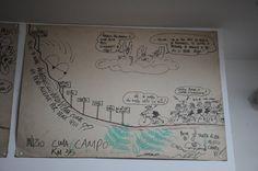 Livorno, omaggio a Zeb: disegni e appunti dell'artista sparito nel nulla