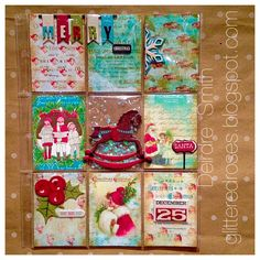 Tsunami Rose Designs: Holiday Pocket Letter using the Christmas Gift Printable Journal by DT Deidre