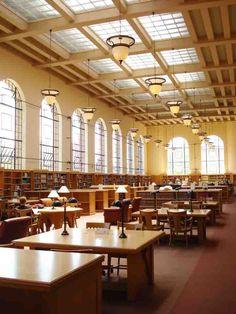Lane Reading Room at Stanford University