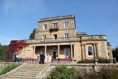 Preparing for a wedding at Salomons in Kent