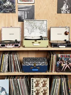 Urban Outfitters- I have been eying Crosley turntables for awhile now and dream of owning a huge, collection of classic Vinyl's one day...