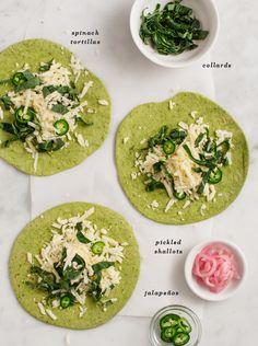 Green Quesadillas / @loveandlemons