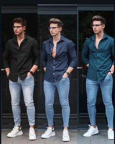 Mens Casual Dress Outfits, Formal Men Outfit, Summer Outfits Men, Stylish Mens Outfits, Trendy Mens Fashion, Mens Fashion Suits, Designer Suits For Men, Business Casual Attire, Mode Outfits