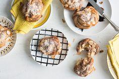 Swedish cinnamon and almond twisted buns (kanelbullar)