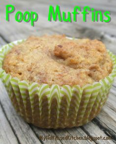 Uses bran flake cereal and turns out soft and delicious. Cereal Recipes, Muffin Recipes, Baby Food Recipes, Sweet Recipes, Cookie Recipes, Snack Recipes, Ww Recipes, Healthy Recipes, High Fiber Snacks