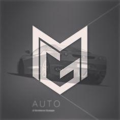 MG Auto / logo by #blandadesign