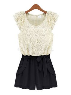 Grace White Lace Short Sleeve...not a big lace person but this is really cute.