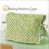 sewing machine cover.  I like the simple style of this.  Seems very 1 size fits all.