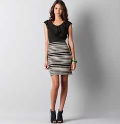 Bought this dress at Loft today, perfect for work!