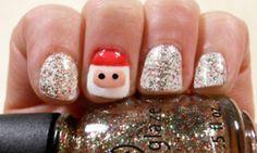 Christmas Nails..i like!