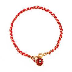 Red Evil Eye Kabbalah String Bracelet Braided Bracelets Jewelry Making
