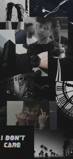 Ed Wallpaper, Black B, My Boo, Black Paper, Bandanas, Harry Styles, Profile, Boys, Retro Wallpaper