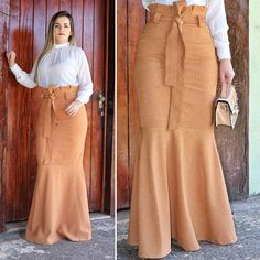 Choose to perform Design, head-turning looks. Modest Dresses, Modest Outfits, Modest Fashion, Hijab Fashion, Fashion Outfits, African Print Dresses, African Fashion Dresses, African Dress, Pencil Skirt Outfits