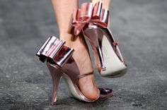 "these christian siriano shoes are ""FIERCE"" as the designer himself is fond of saying."