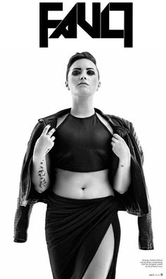 Demi Lovato for FAULT magazine - issue now available!