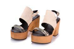 70' sandalias de plataforma venta 50% OFF por ImeldaShoes en Etsy