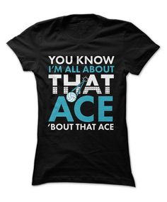 When your friends see you rocking this shirt and they ask you about it, you just tell them it's because you're all about that ace! Show the world every perfect inch of you from bottom to top in the cutest volleyball gear! Volleyball Locker, Volleyball Cheers, Funny Volleyball Shirts, Volleyball Outfits, Volleyball Quotes, Coaching Volleyball, Volleyball Pictures, Beach Volleyball, Volleyball Gifts